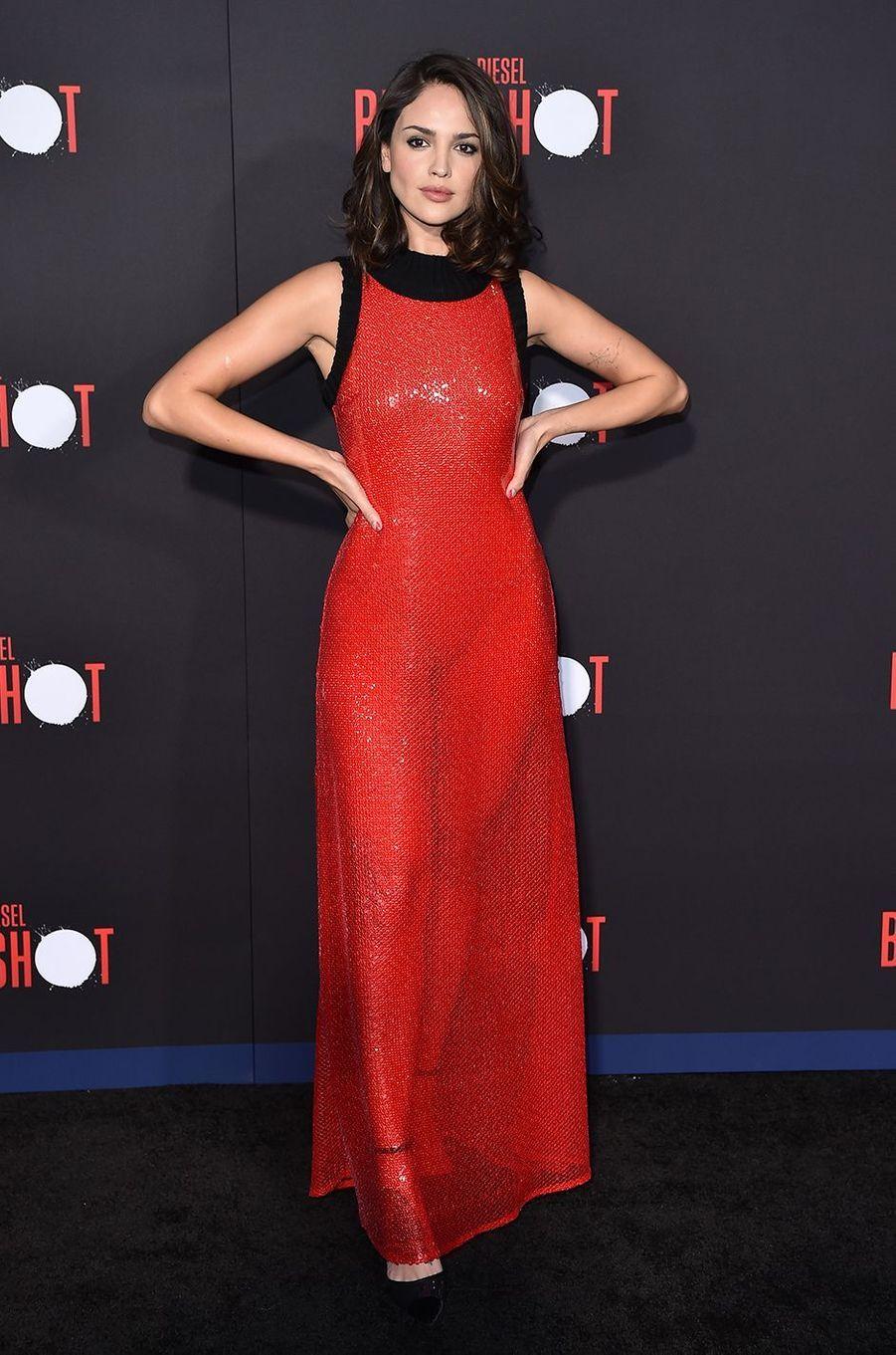 """Eiza Gonzalez à la première du film """"Bloodshot"""" à Los Angeles en mars 2020"""