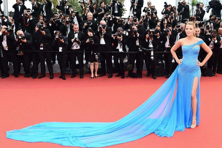 Blake Lively au festival de Cannes en 2016.