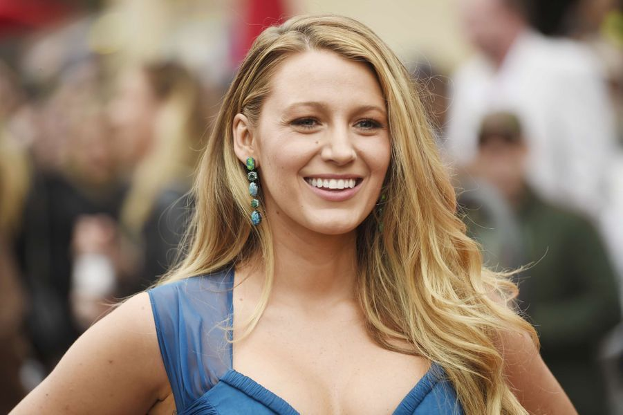 Blake Lively à Los Angeles en 2016.