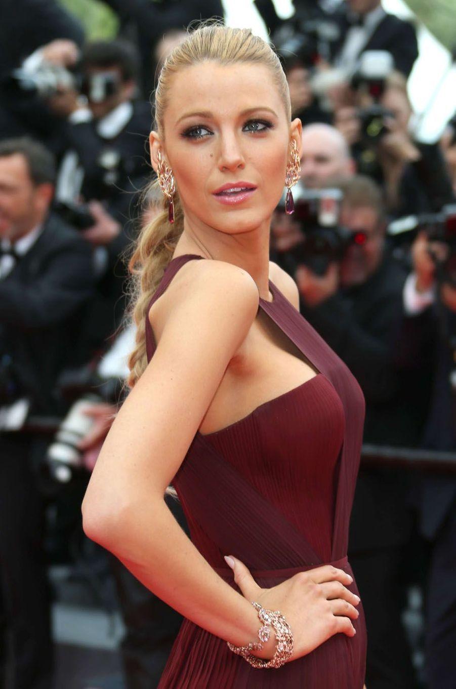 Blake Lively au festival de Cannes en 2014.