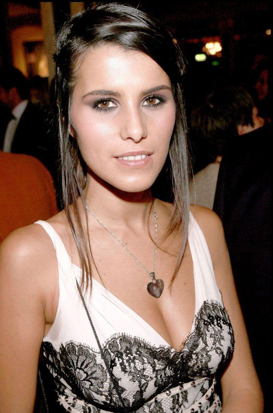 Karine Ferri a été mannequin