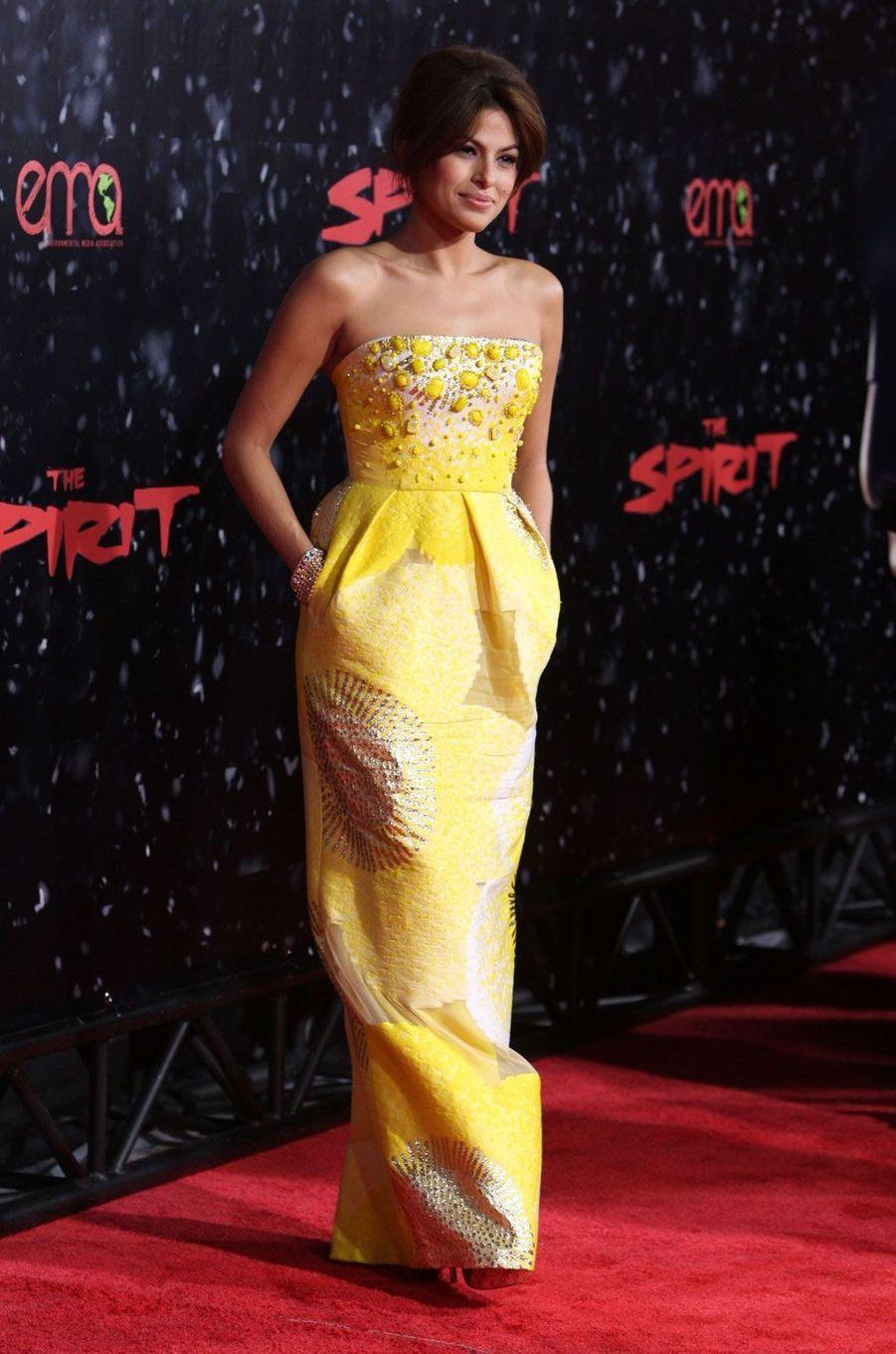 Eva Mendes en 2008