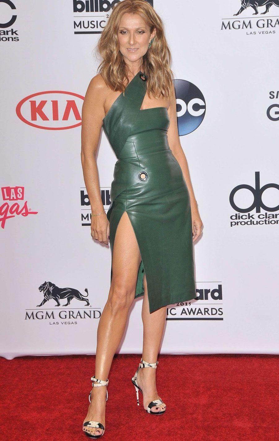 Céline Dion à Las Vegas en 2015.
