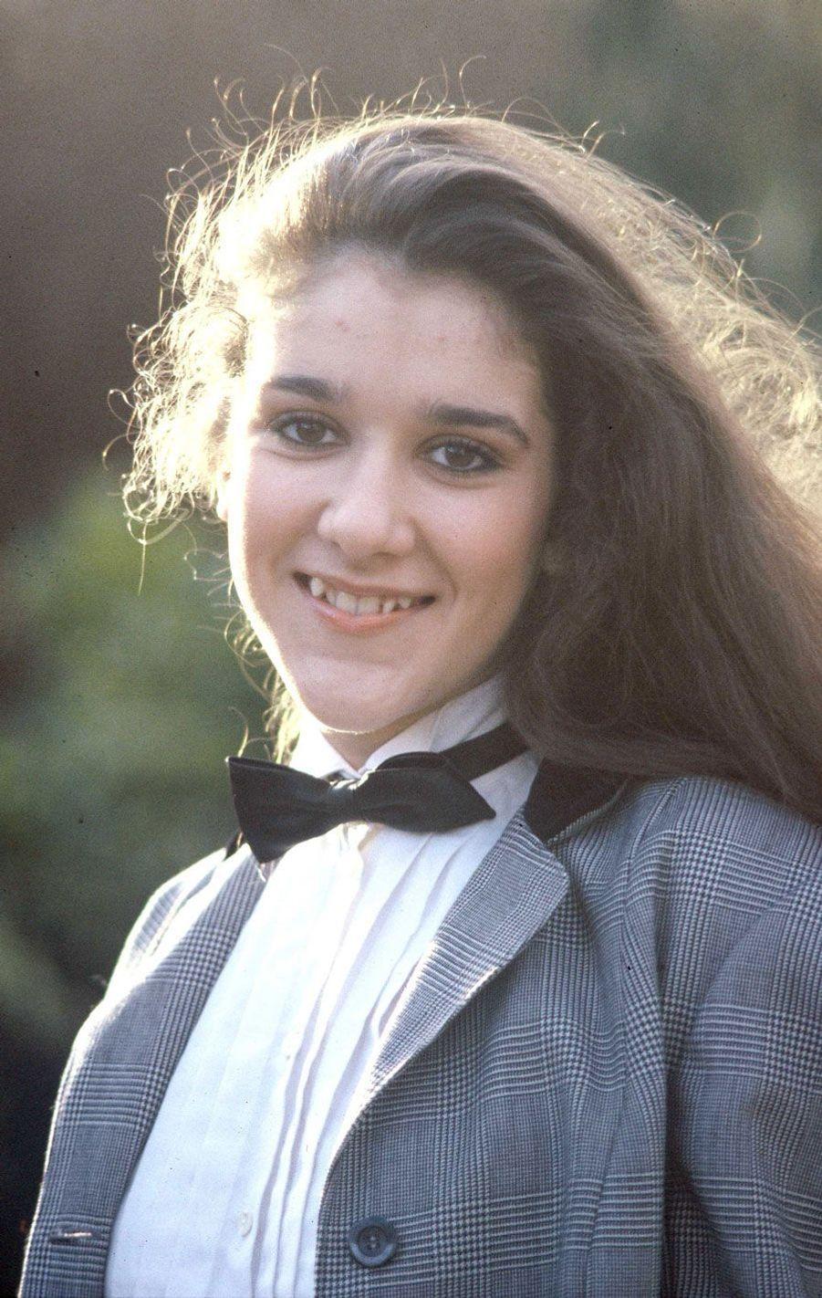 Celine Dion en 1983.