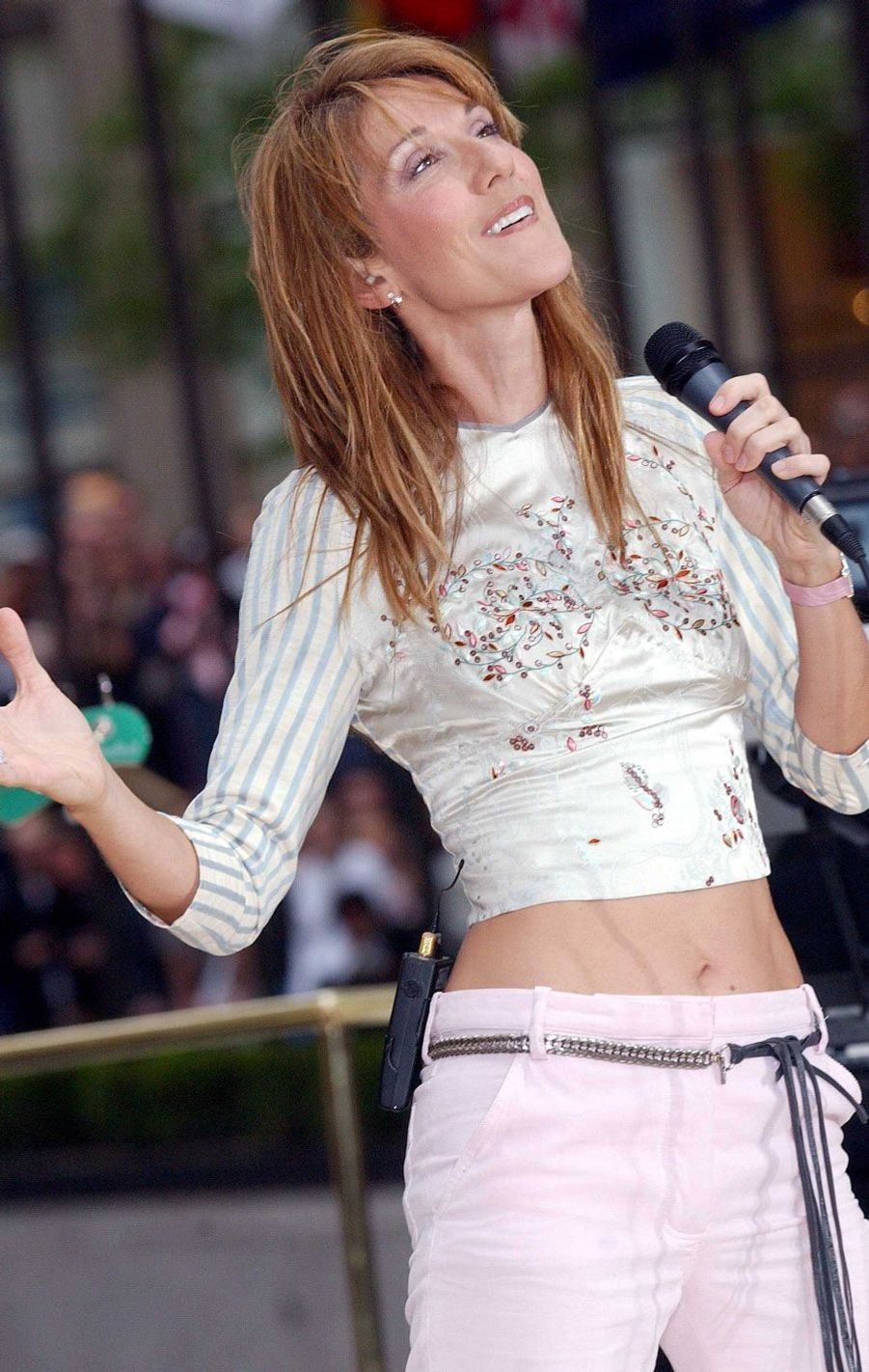 Céline Dion à New York.