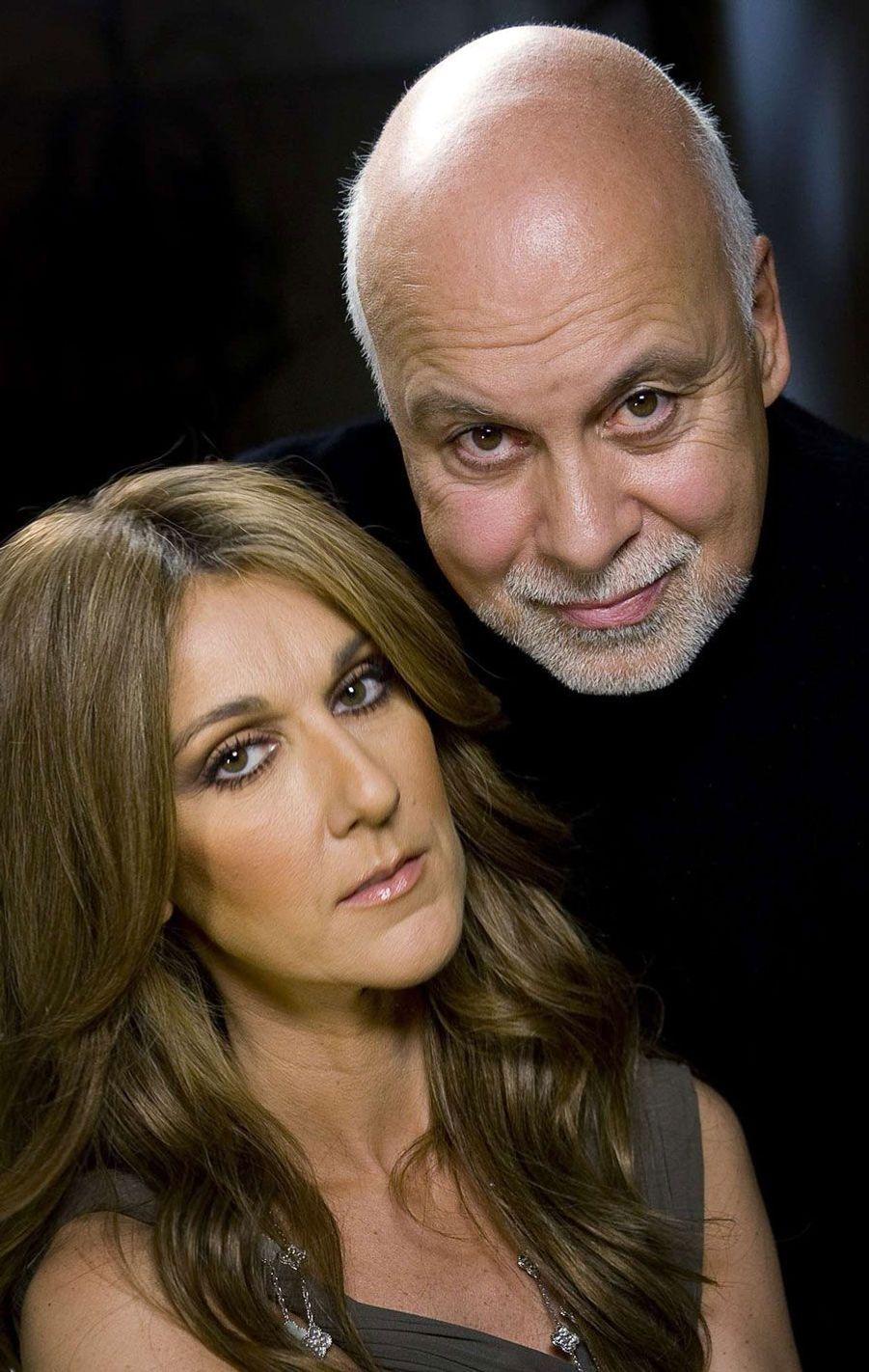 Céline Dion et son mari René Angélil en 2007.