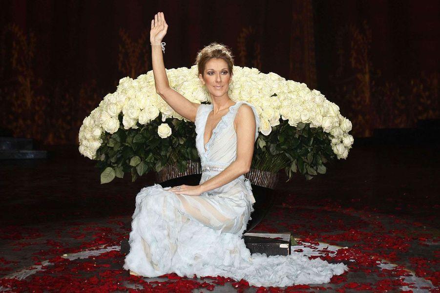 Céline Dion en 2007.