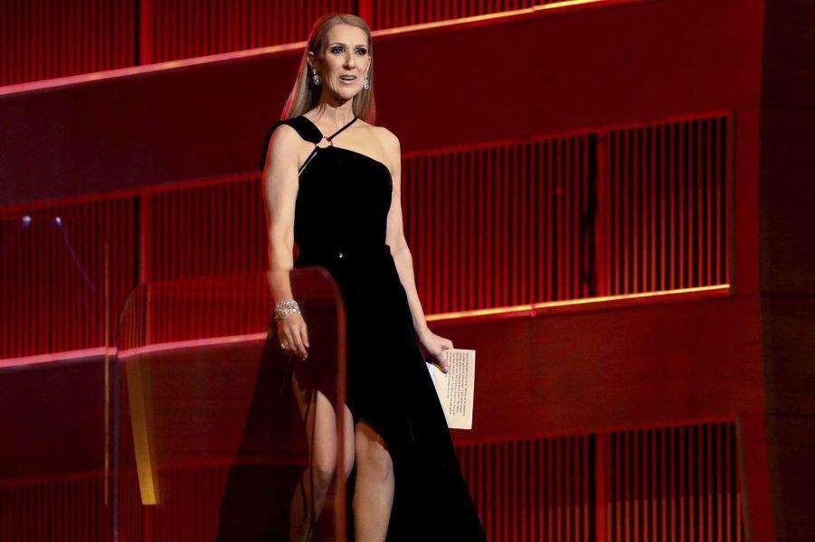 Céline Dion à Los Angeles en 2017.