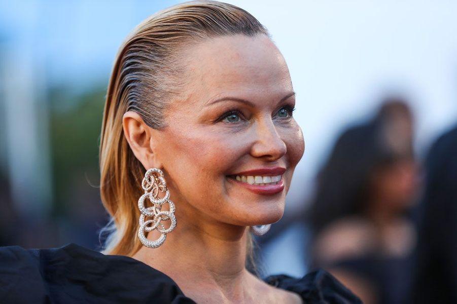Pamela Anderson au Festival de Cannes en 2017