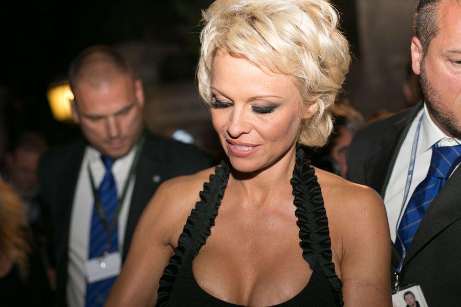 Pamela Anderson en 2014