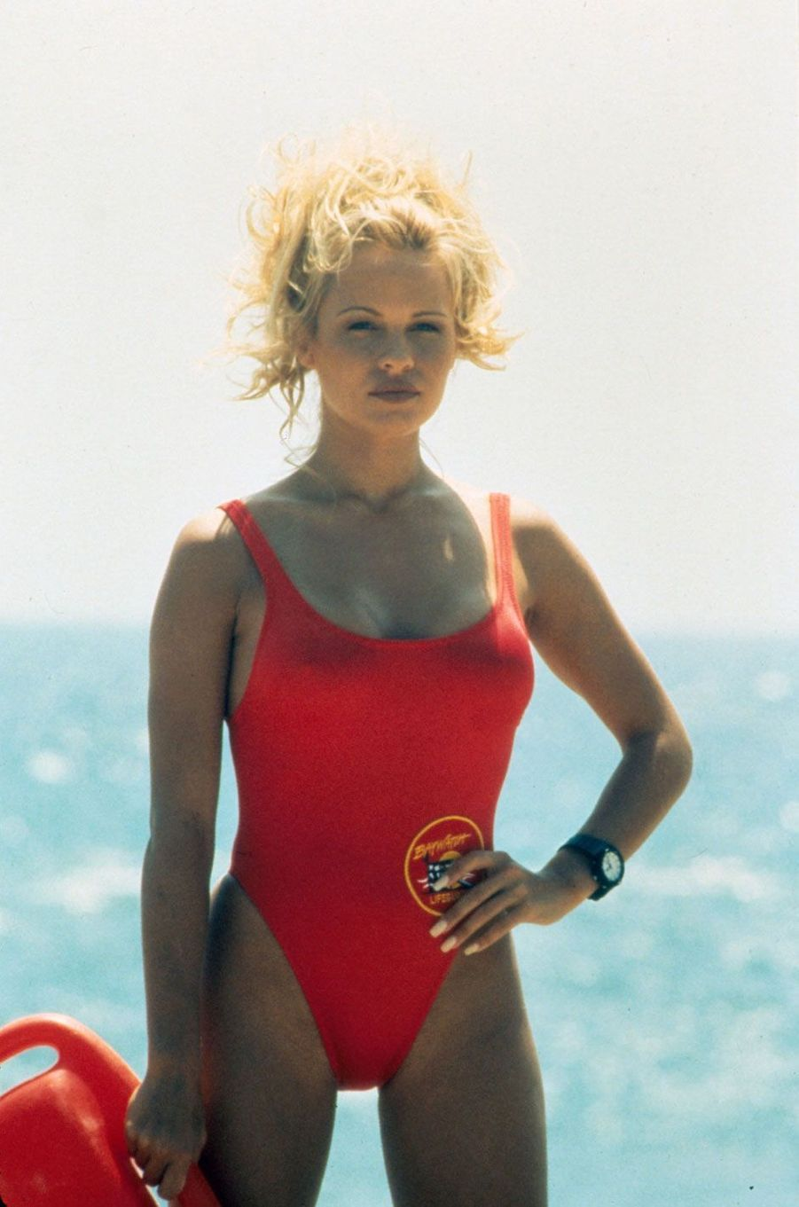 "Pamela Anderson dans ""Alerte à Malibu"""