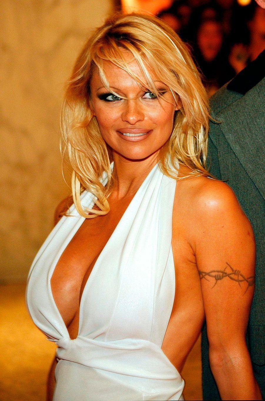 Pamela Anderson en 2008