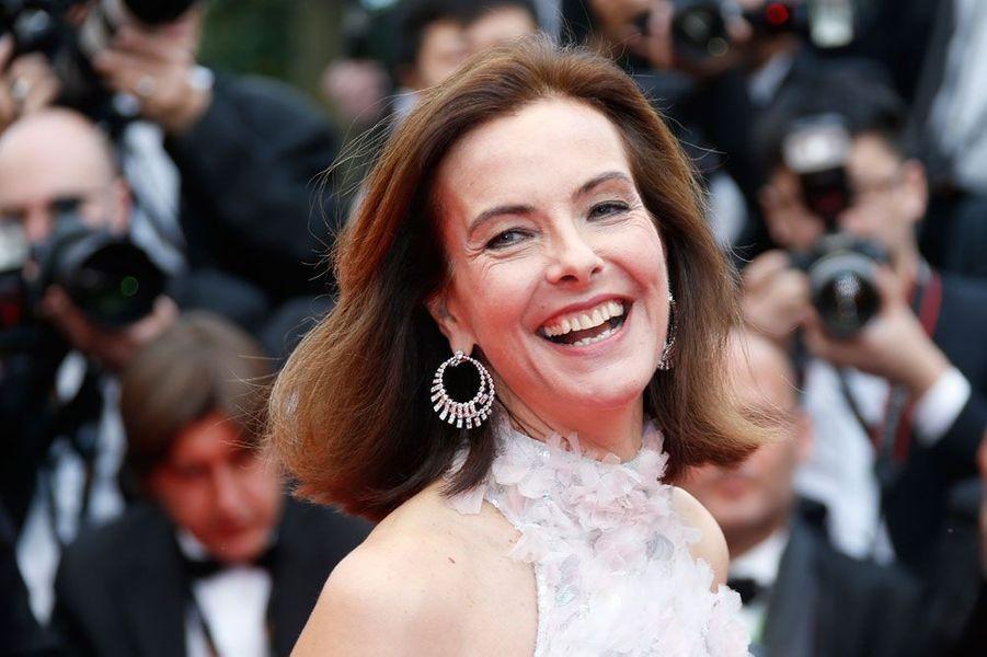 Carole Bouquet en 2014 au Festival de Cannes
