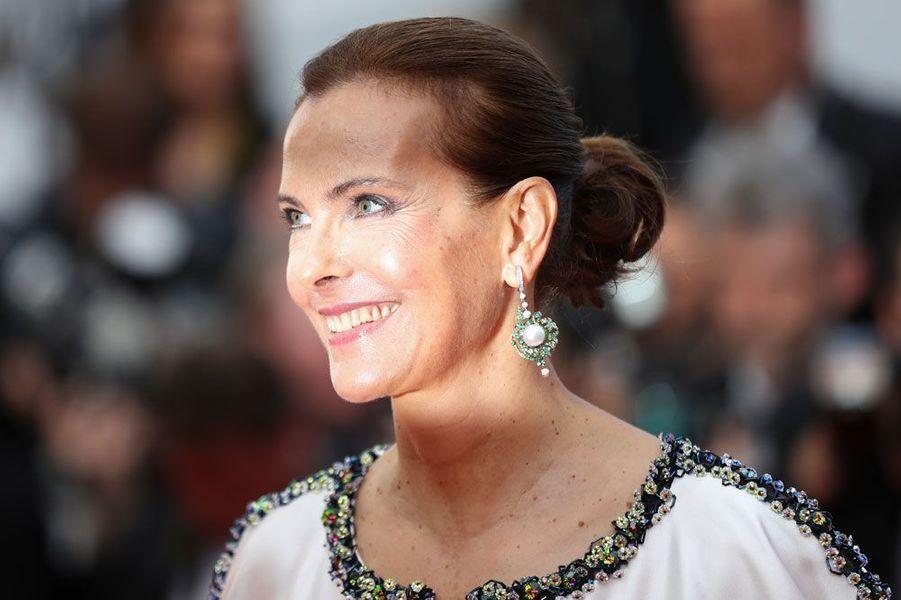 Carole Bouquet en 2017 au Festival de Cannes