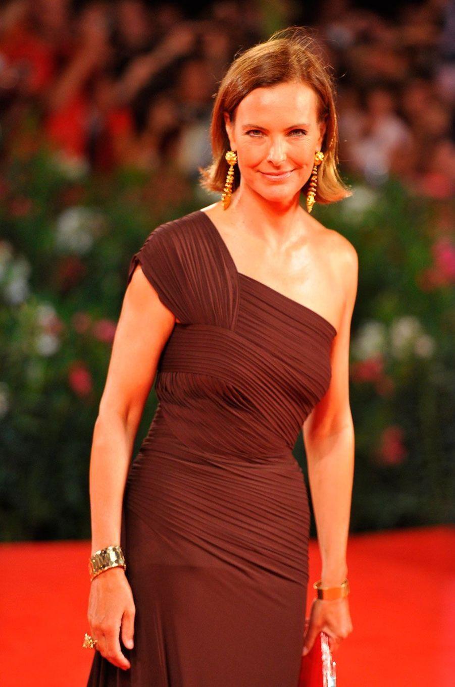 Carole Bouquet en 2011 au Festival de Venise