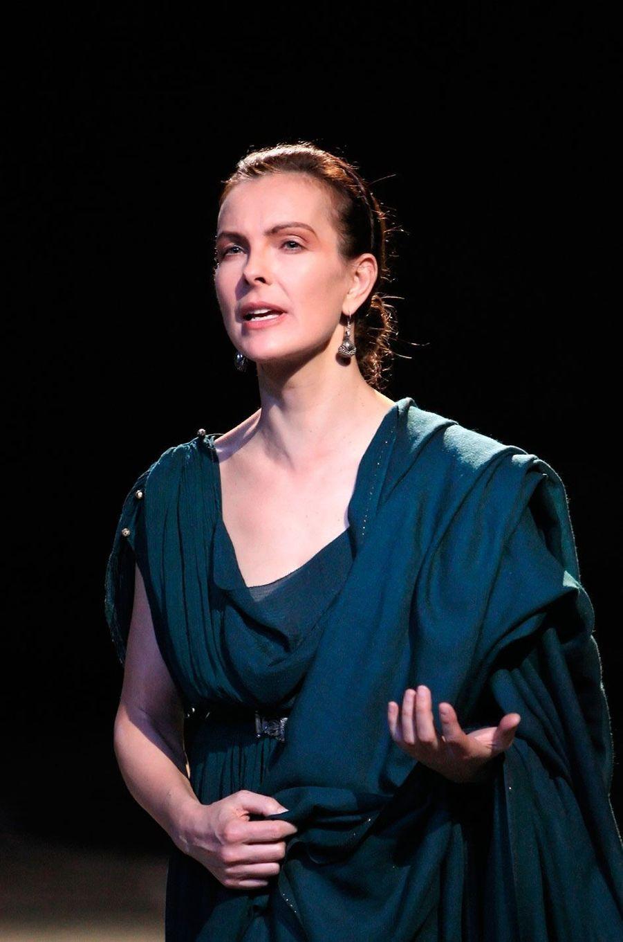 "Carole Bouquet dans ""Berenice"" en 2008"