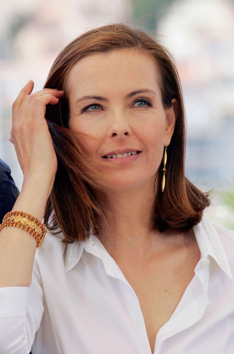 Carole Bouquet en 2005 au Festival de Cannes