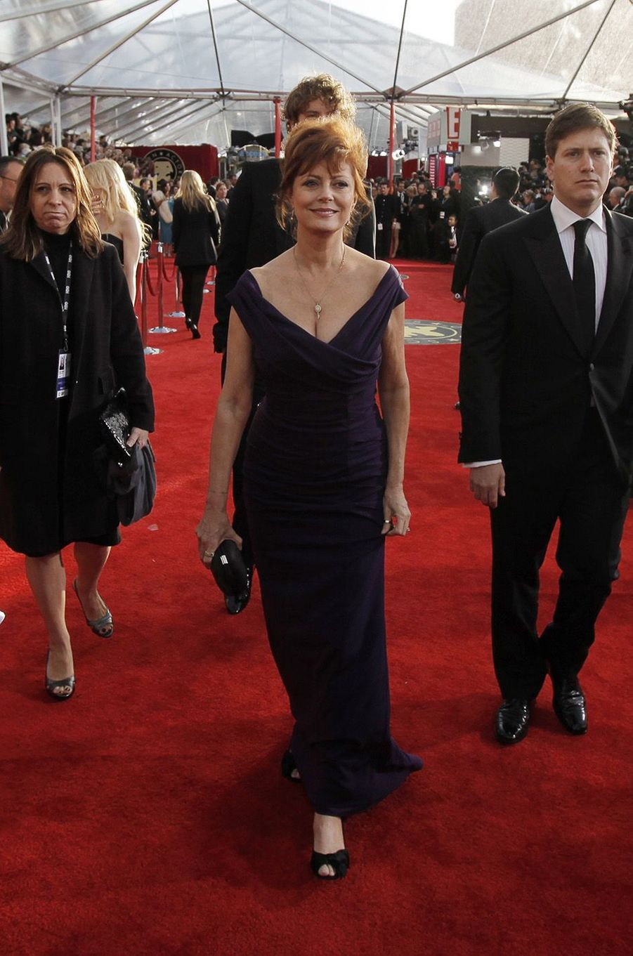Susan Sarandon a 70 ans.