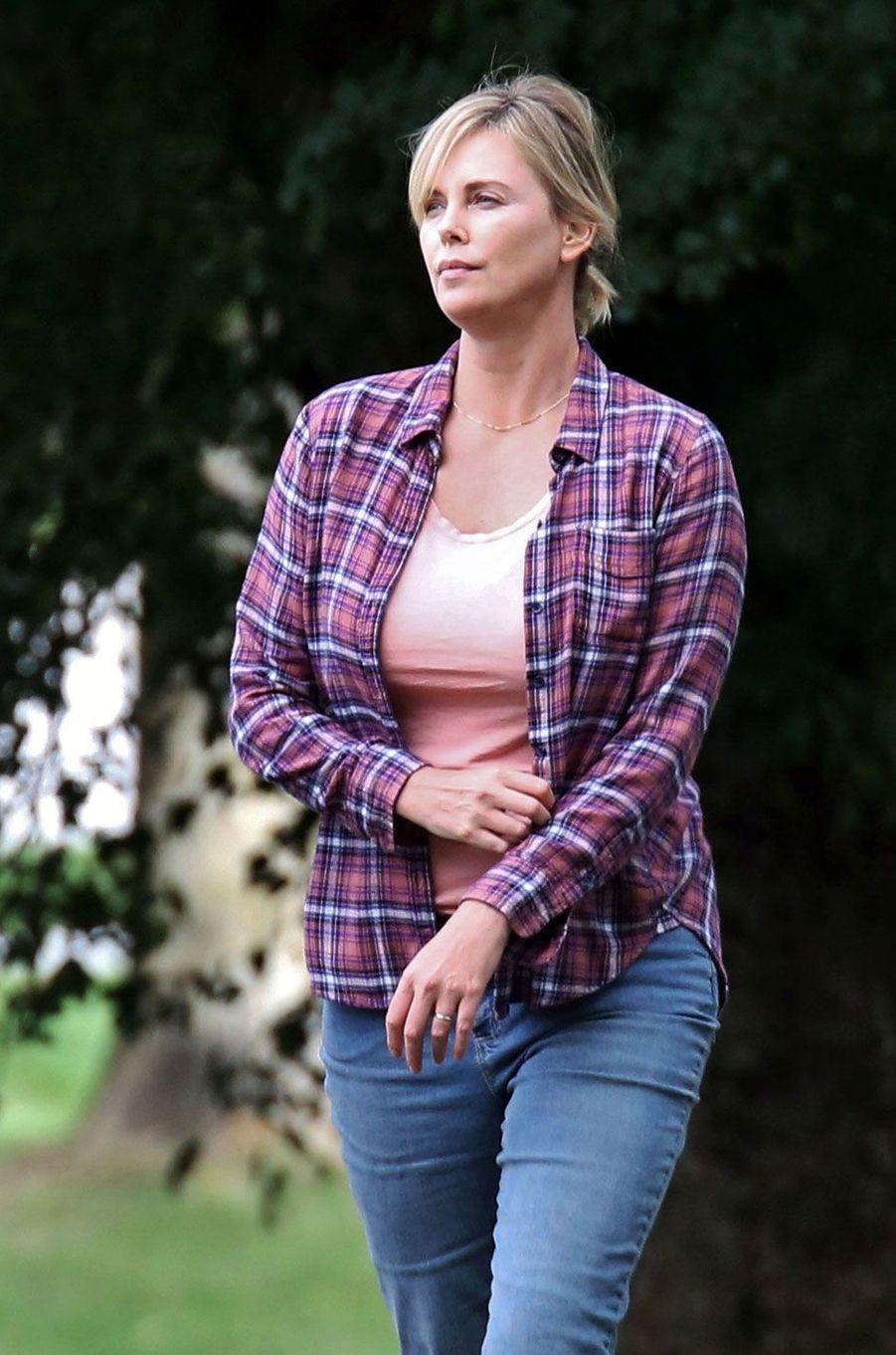 Charlize Theron à Vancouver pour un tournage