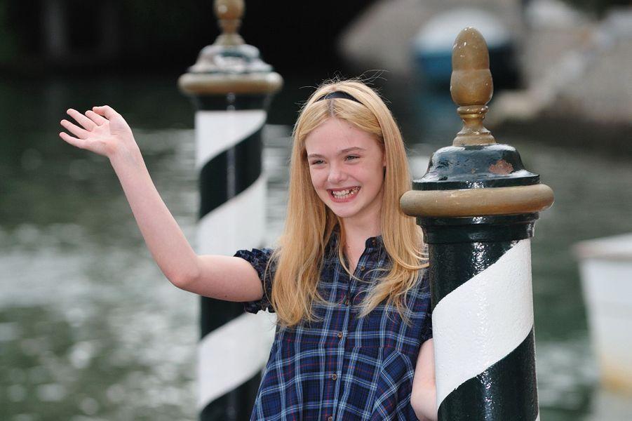 Elle Fanning à Venise, le 3 septembre 2010.