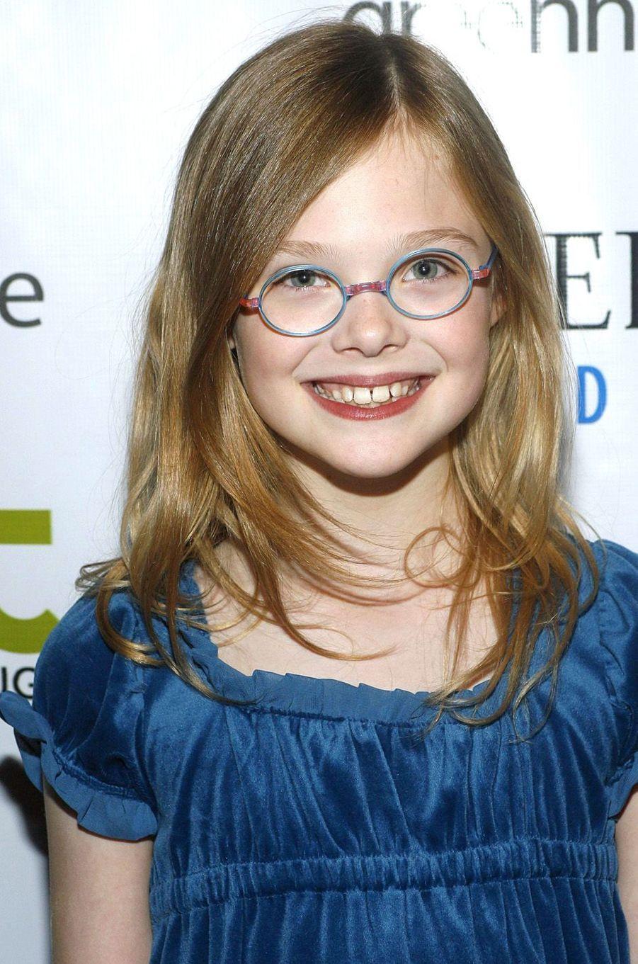 Elle Fanning au festival de Sundance, le 20 janvier 2008.