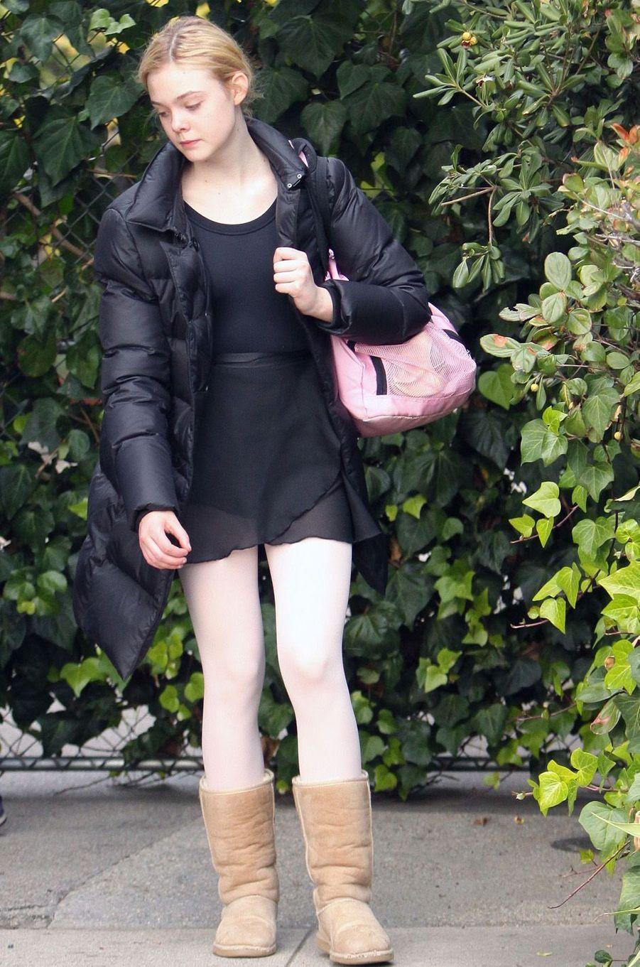 Elle Fanning, le 4 décembre 2010.