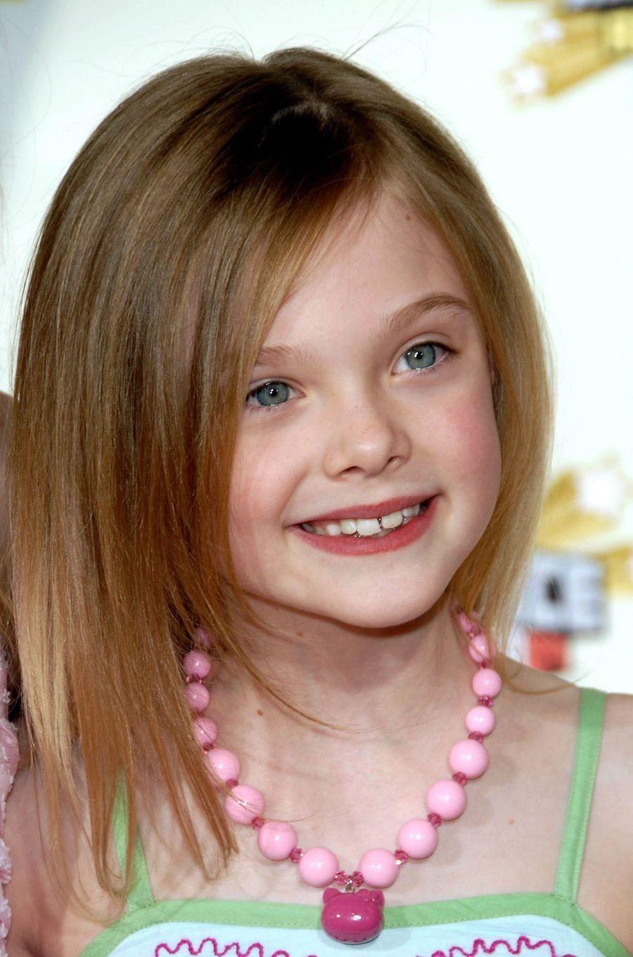 Elle Fanning à Westwood, le 31 mars 2007.