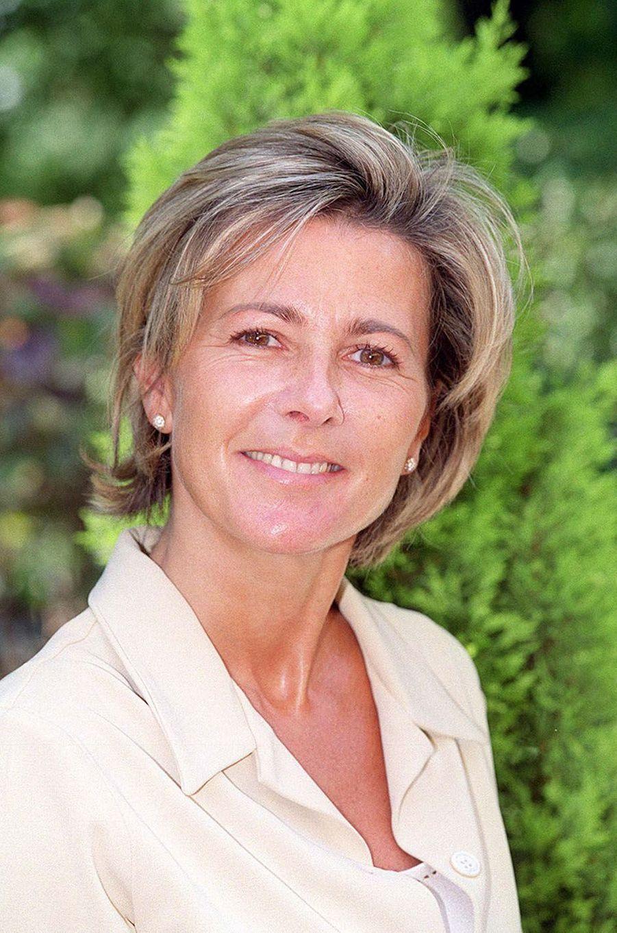 Claire Chazal en 2000