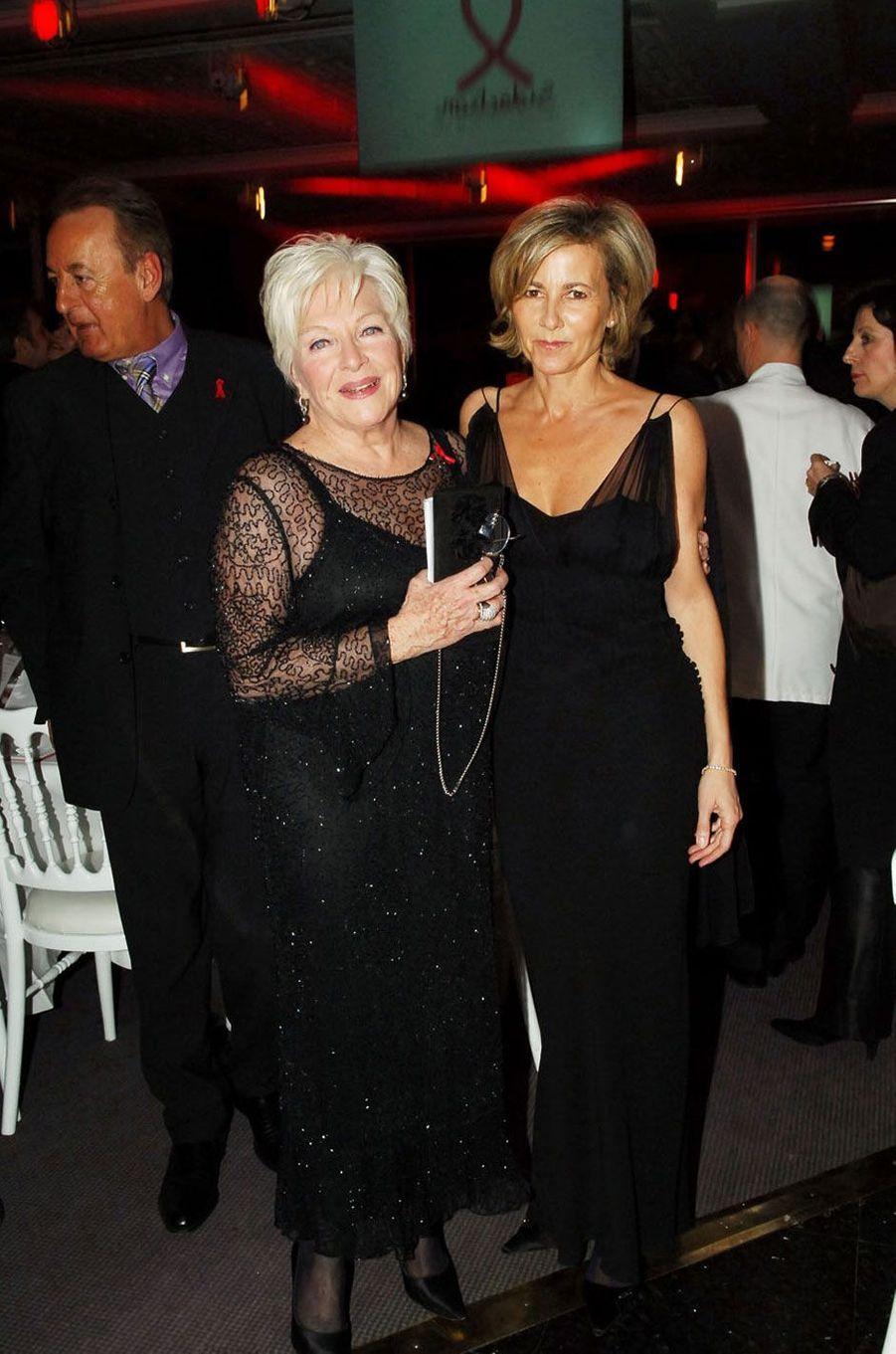 Claire Chazal et Line Renaud en 2006