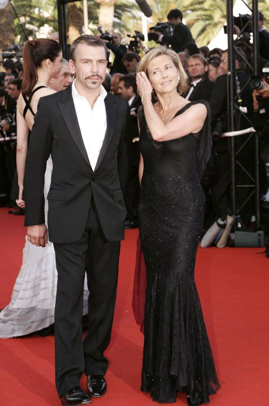 Claire Chazal et Philippe Torreton au Festival de Cannes en 2006