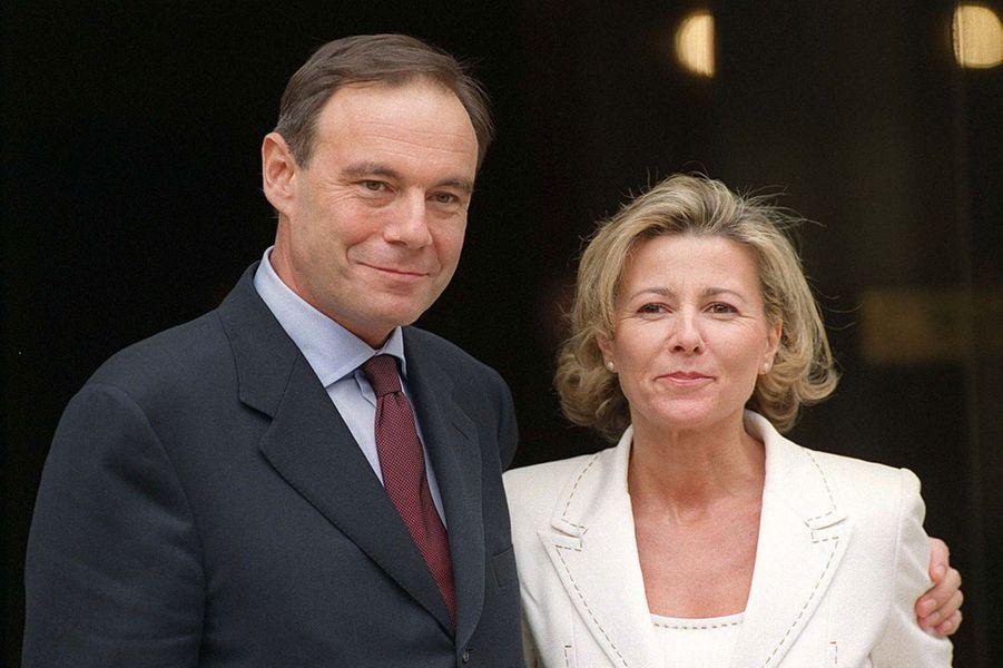 Mariage de Claire Chazal et Xavier Couture en 2000