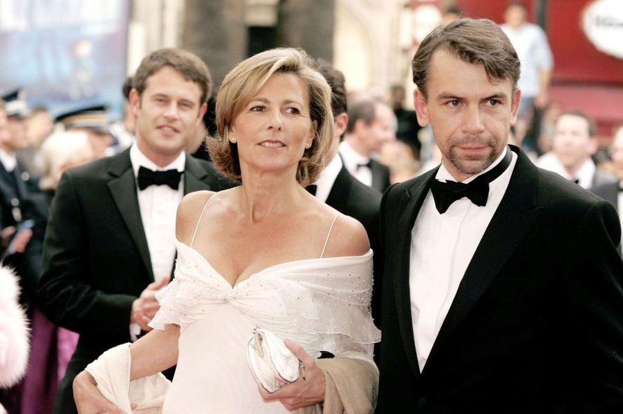 Claire Chazal et Philippe Torreton au Festival de Cannes en 2004
