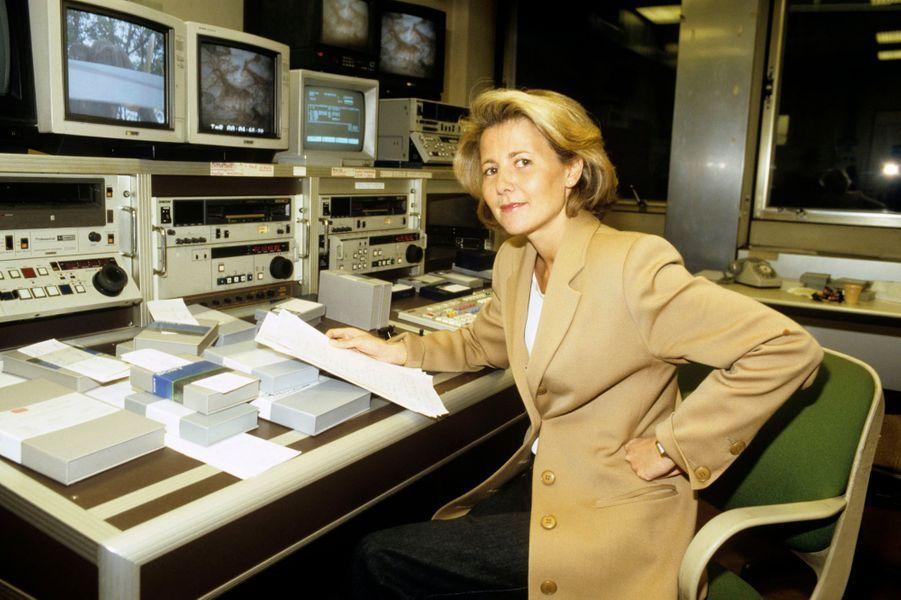 Claire Chazal en 1991