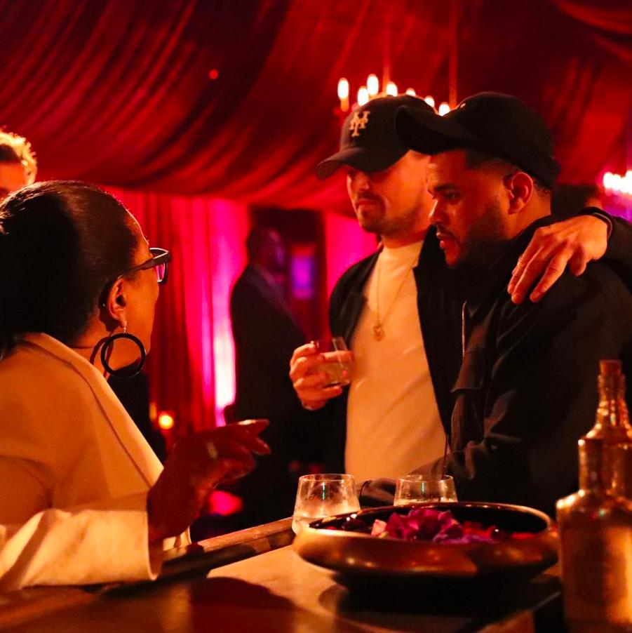 Oprah Winfrey, The Weeknd et Leonardo DiCaprio