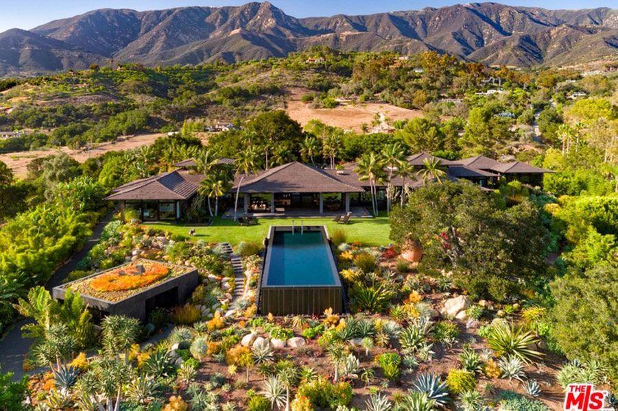La villa d'Ellen DeGeneres et Portia de Rossi