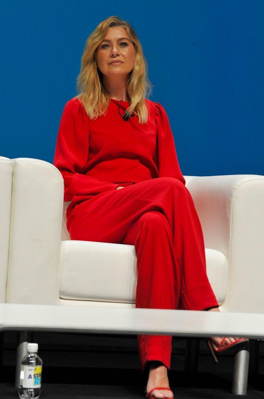 Ellen Pompeo à Cannes, mardi 19 juin