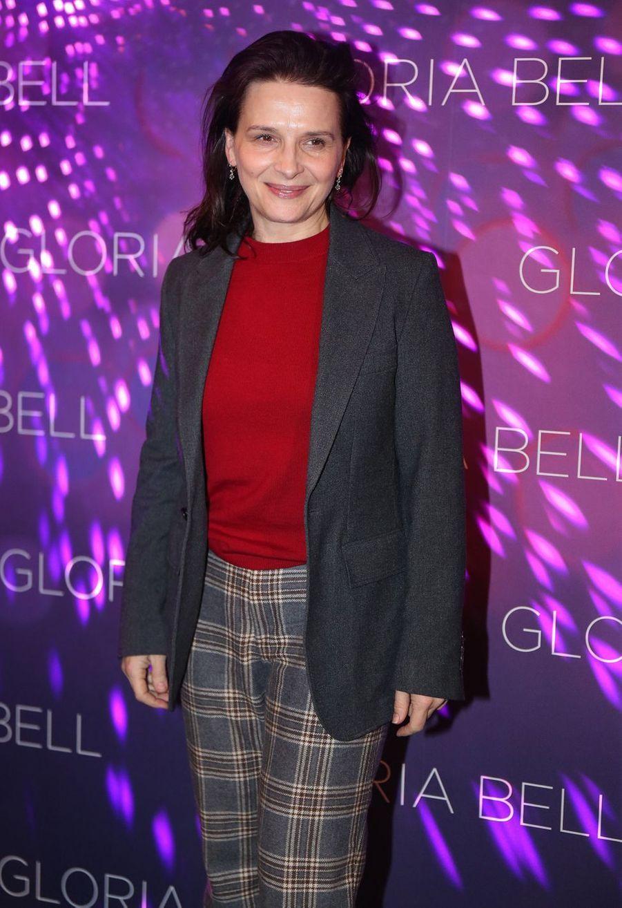 Juliette Binocheà Paris, le 15 avril 2019