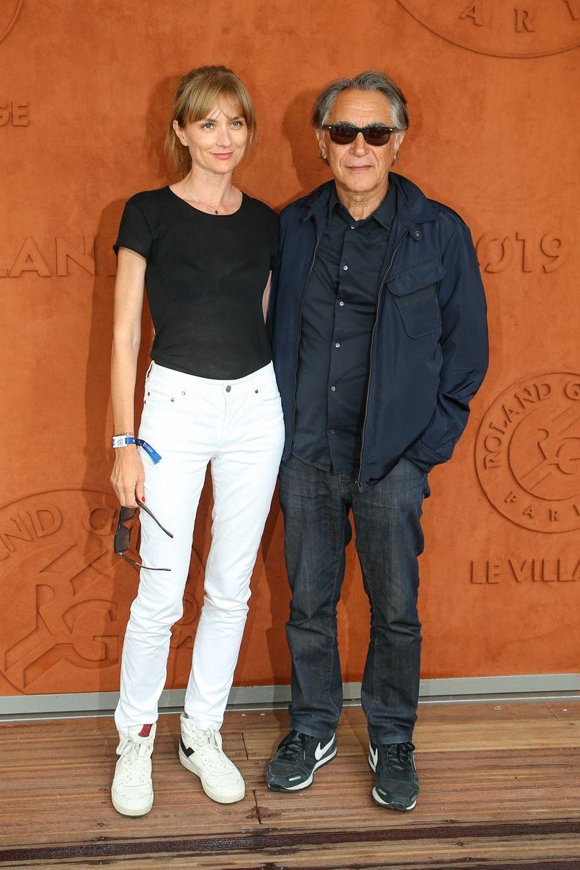 Richard Berry et sa femme Pascale Louangeà Paris, le 4 juin 2019