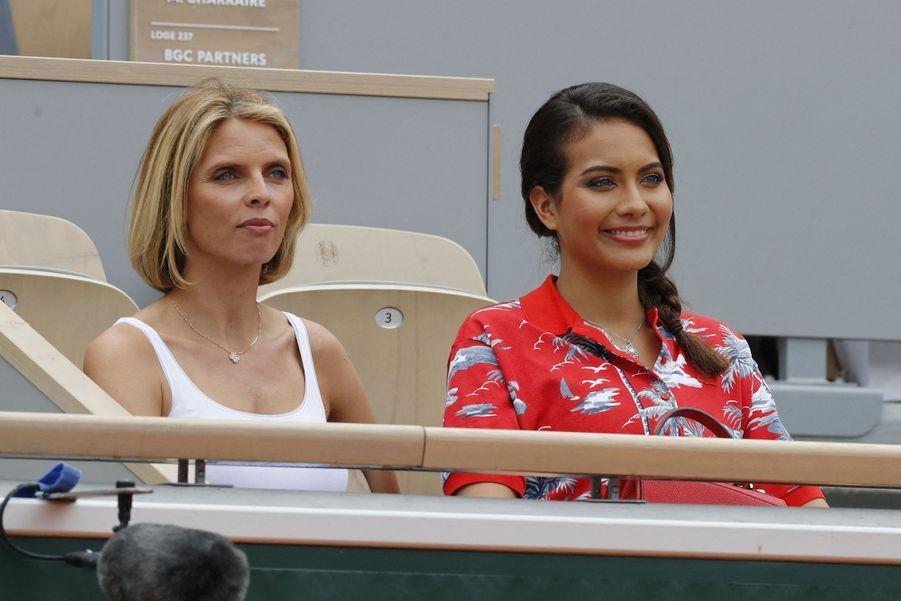 Vaimalama Chaves et Sylvie Tellier à Paris, le 4 juin 2019