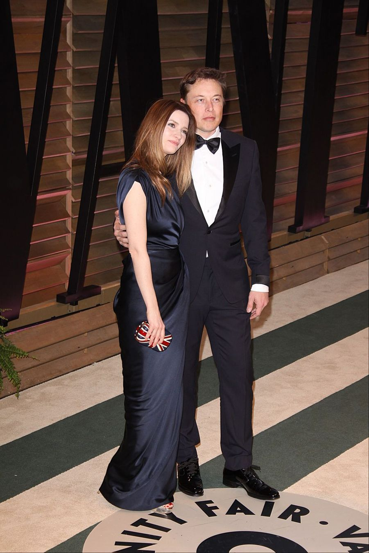 Talulah Riley et Elon Musk en 2014