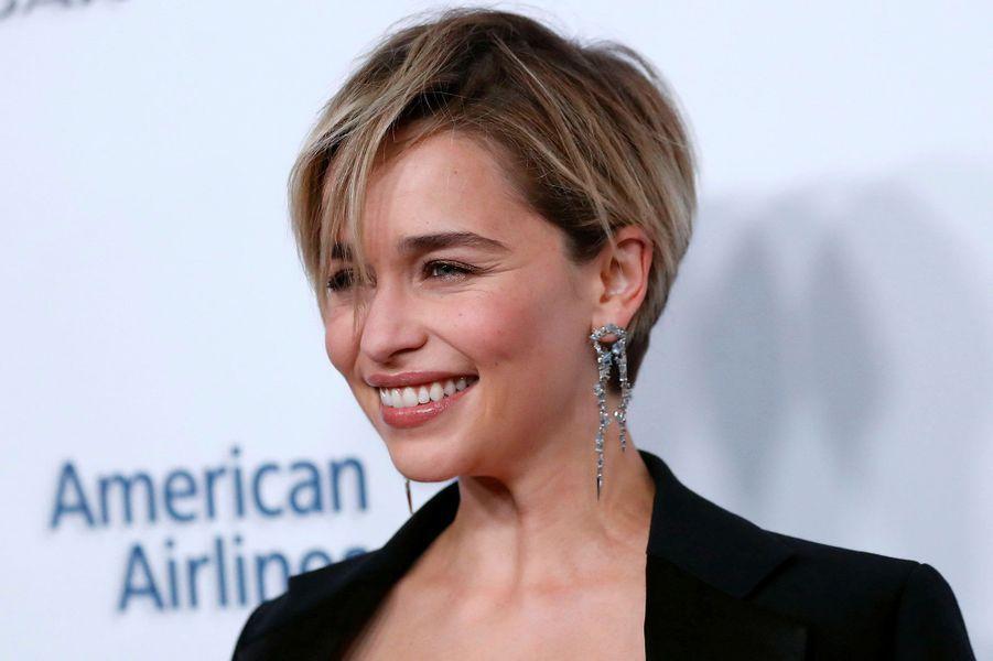 Emilia Clarke auxBritish Academy Britannia Awards, vendredi àBeverly Hills