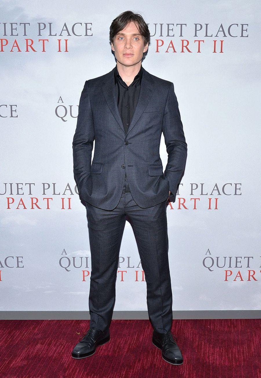 """Cillian Murphyà la première du film """"Sans un bruit partie II""""à New York le 8 mars 2020."""