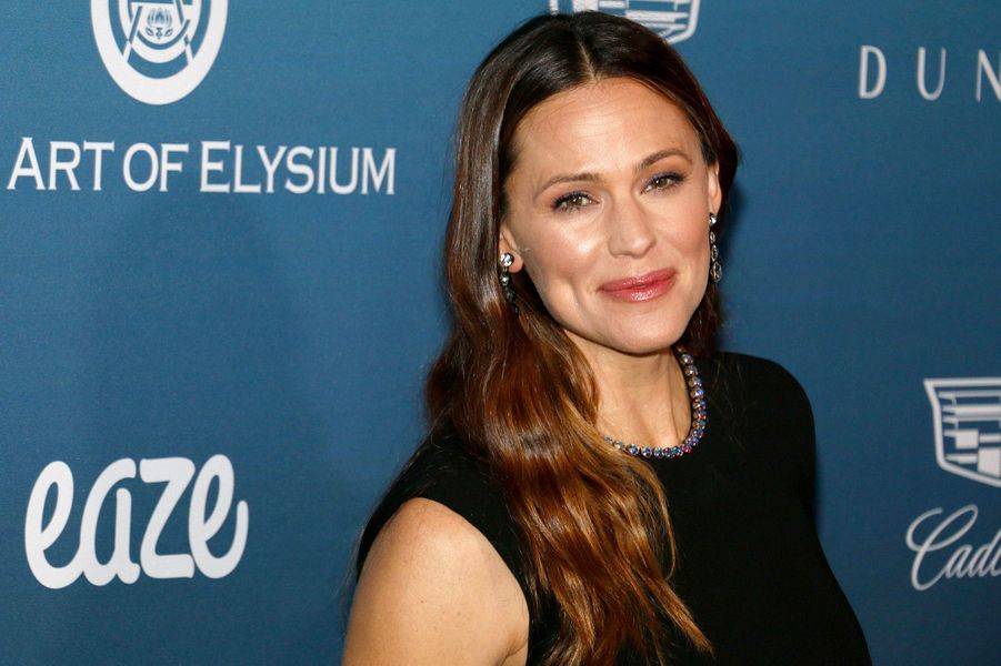 Jennifer Garner au gala Art of Elysium, à Los Angeles, samedi 5 janvier