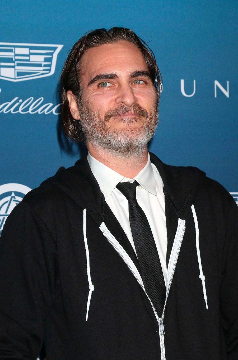 Joaquin Phoenix au gala Art of Elysium, à Los Angeles, samedi 5 janvier