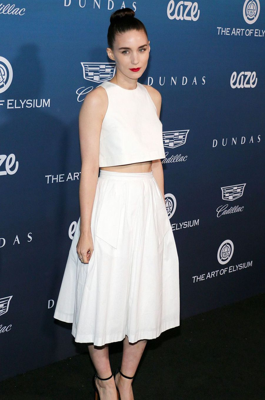 Rooney Mara au gala Art of Elysium, à Los Angeles, samedi 5 janvier
