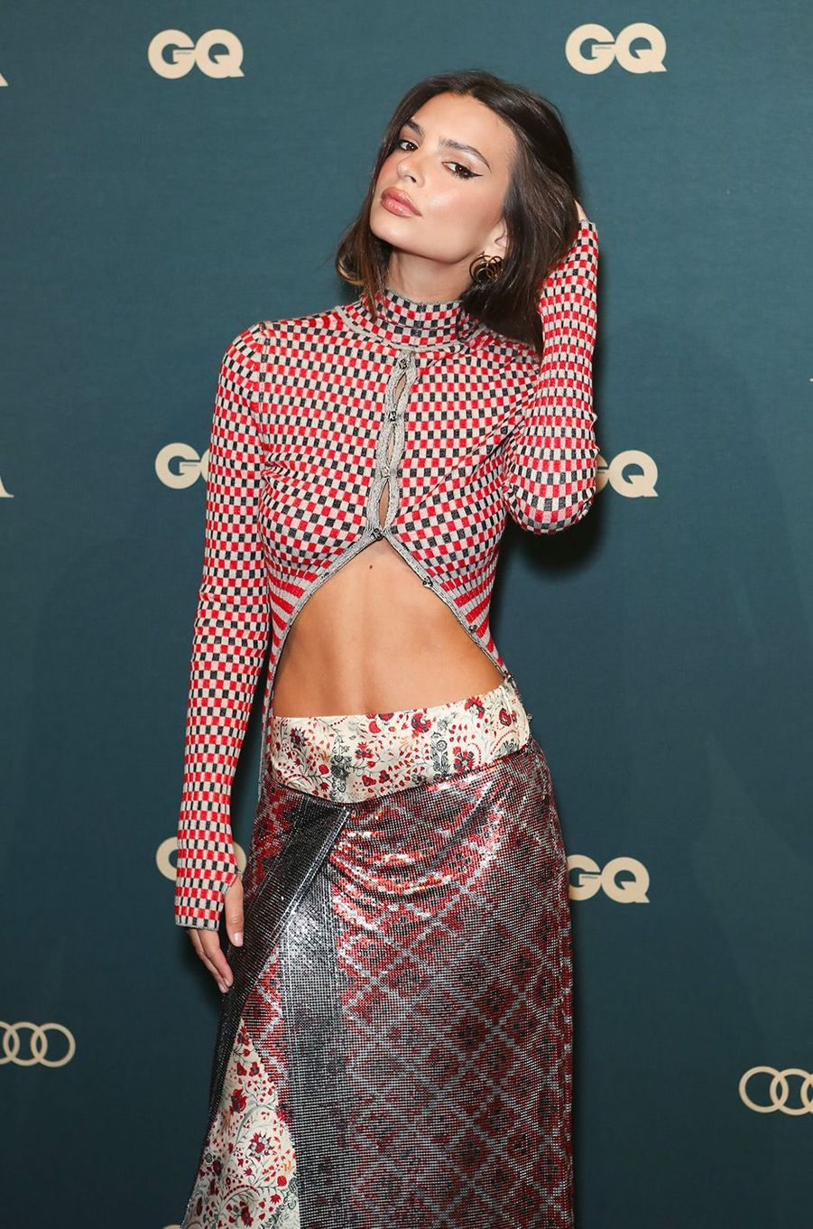 "Emily Ratajkowski à la soirée ""GQ Men of the year"", à Sidney, mercredi 14 novembre"