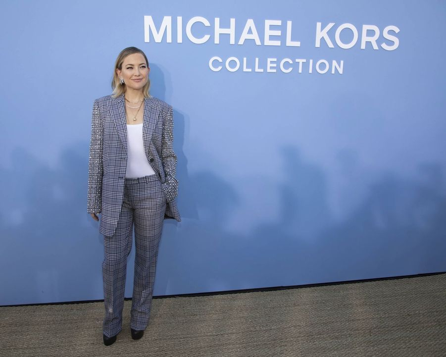 Kate Hudson au défilé Michael Kors à New York le 11 septembre 2019