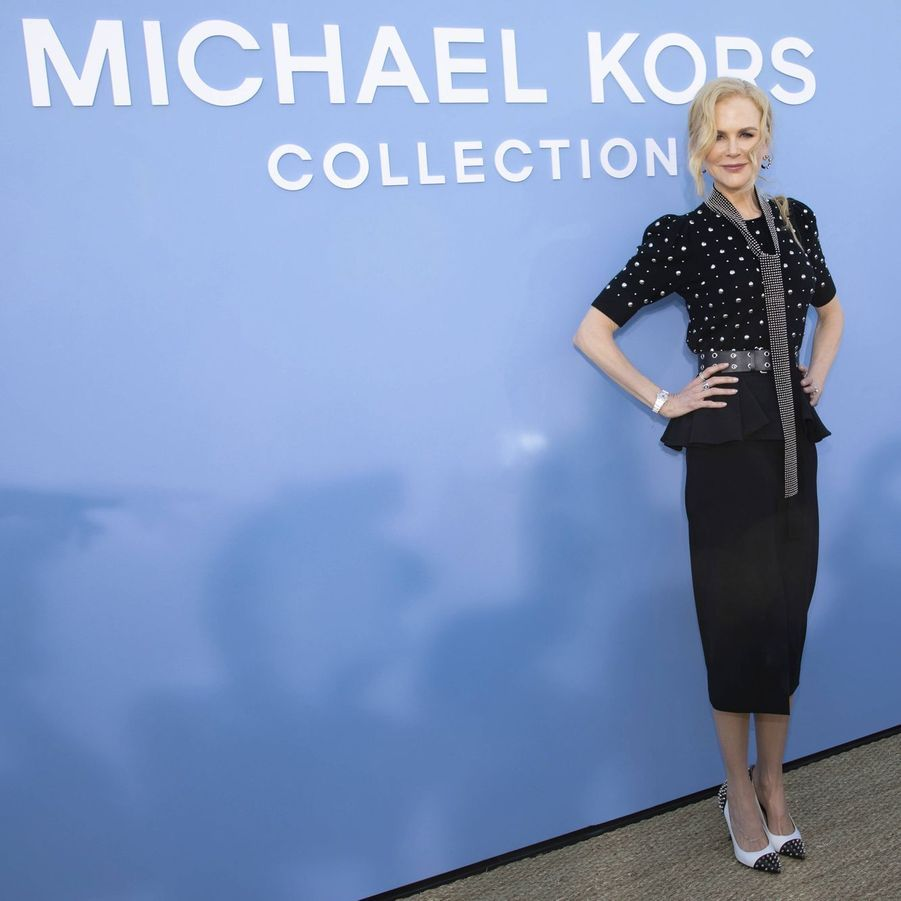 Nicole Kidmanau défilé Michael Kors à New York le 11 septembre 2019