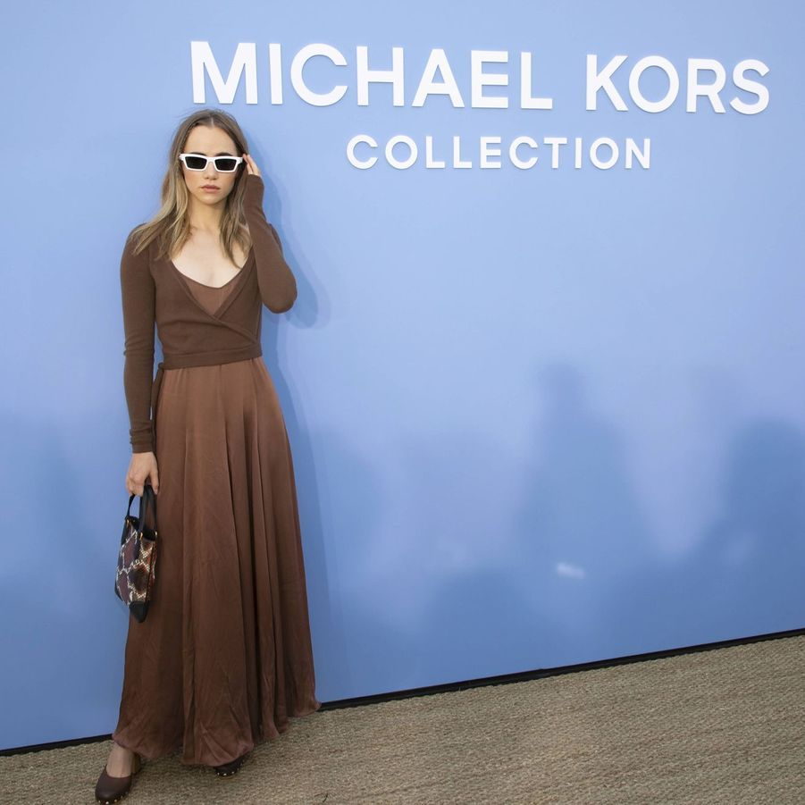 Suki Waterhouse au défilé Michael Kors à New York le 11 septembre 2019