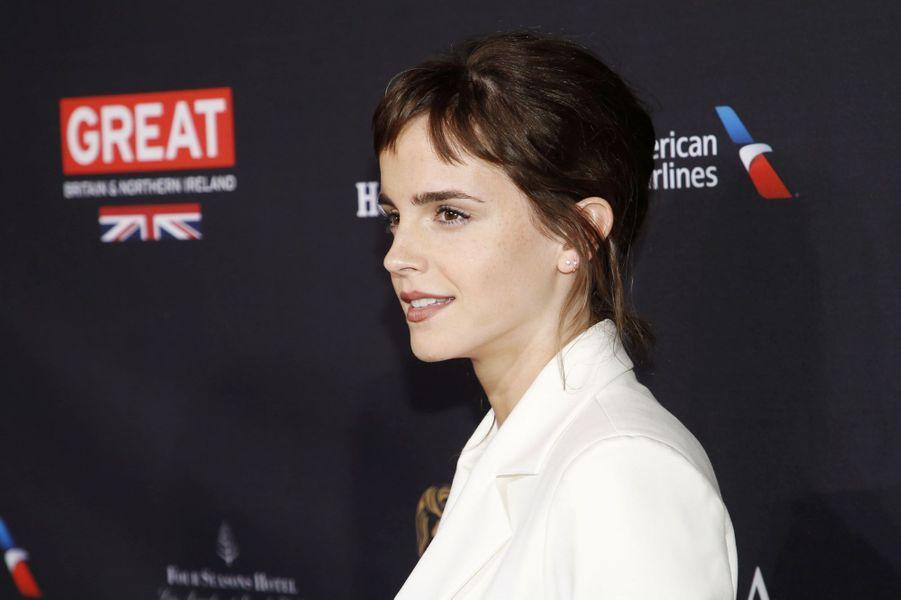 Emma (ici Watson) est le prénom qui devrait être le plus donné à des filles en France en 2019.